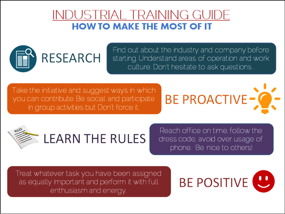 Industrial Training,Freshers Career
