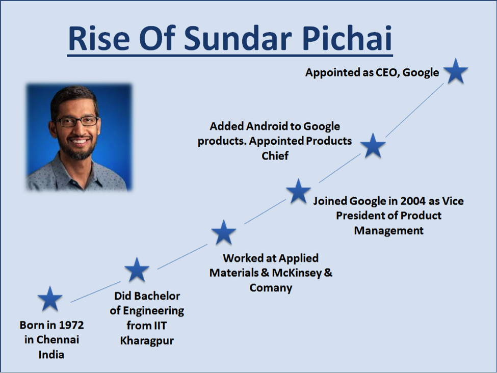 what can we learn from sundar pichai